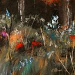 """Blue Grass And Wild Flowers"" by RuthPalmer"