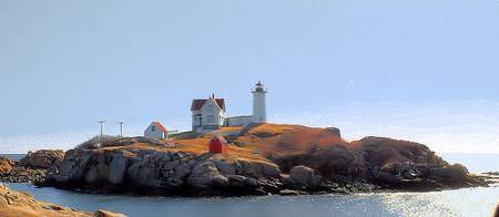 Nubble Panorama