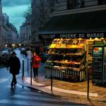 """Winter Evening In The Marais"" by macondo"