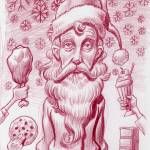 """The off season skinny Santa"" by MikeCressy"