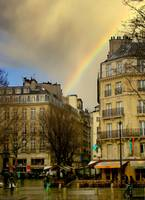 Rue de Rivoli After Rain
