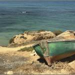 """Moored Boat on the Shore"" by PhotoStock-Israel"