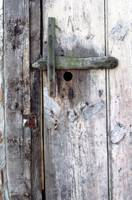 Weathered Door Ham Berkshire UK