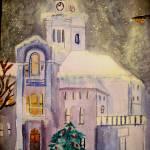 """Church in Winter"" by magnoliadorn"