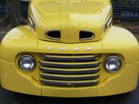 Vintage Yellow Truck