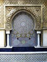 Moorish fountain