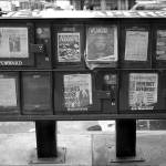"""Newspaper in New York City"" by xof711"