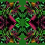 """Poinsettias and Holly 2-01"" by infinitefascination"