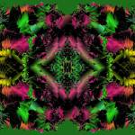 """Poinsettias and Holly 2-03"" by infinitefascination"