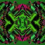 """Poinsettias and Holly 2-05"" by infinitefascination"