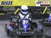 steve pepka bsh racing sykart winter 2008 poster #