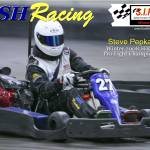 """steve pepka bsh racing sykart winter 2008 poster #"" by Kart-Race-Art"
