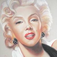 """Marilyn Monroe"" by Louise Lavallee"