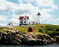 Cape Neddick (Nubble) Lighthouse, York Maine
