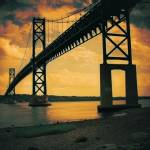 """Mount Hope Bay Bridge"" by lafleurerouge"