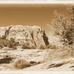 """Vintage look Utah desert"" by worldphoto"
