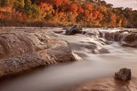 River Rapids: Autumn Evening Light III
