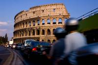 Piazza del Colosseo - The Roman Colosseum