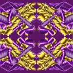 """Purple and Gold 01"" by infinitefascination"