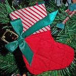 """Xmas stocking hanging ornament"" by digitalife"