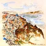"""""""Santorini X"""" by edwardobermueller"""