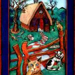 """""""Cat House"""" by marydelave"""