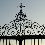 """Cenac church gate iron"" by BeckySpencer"