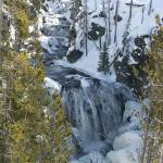 """Yellowstone waterfall"" by ThomasArt"