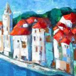 """Croatian Coast"" by leyla"