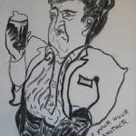 """Brendan Behan."" by ArtRoger"