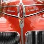 """Classic Car - Red Studebaker"" by photographybymjschaub"
