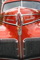 Classic Car - Red Studebaker