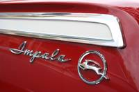 Red Impala Classic Car