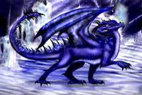 Icy Blue Dragon