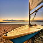 """Boat at Pt Chev (HDR)"" by Nazar"