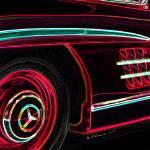 """Gullwing Super Glow"" by CarAnimal"