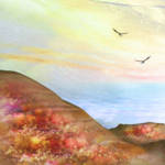 """""""Romantic Landscape"""" by AnneVis"""