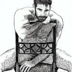 """Big Daddy Bear, Sexy Nude bear man by Riccoboni"" by BeaconArtWorksCorporation"