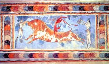 Minoan Fresco Art Galleries