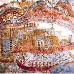 """""""Minoan Admirals Flotilla Fresco Thera Scene"""" by MinoanAtlantis"""