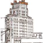 """El Cortez by Randy RD Riccoboni"" by BeaconArtWorksCorporation"