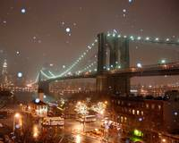 Brooklyn Bridge Flurries