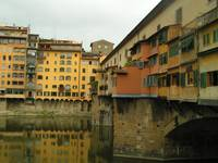 Goldsmith's shops on the Ponte Vecchio