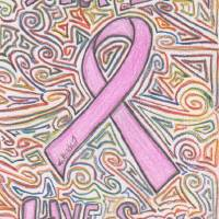 Breast Cancer Awareness Art Prints & Posters by Birdie Sawyer