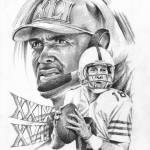 """""""Peyton Manning"""" by creativesportsart"""