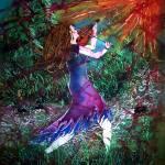 """Fiddler in the Forest"" by sueduda"