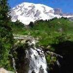 """Myrtle Falls - Paradise - Mt Rainier"" by NWExposures"