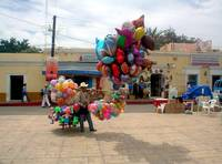 Balloon Seller Mexico