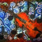 """Music - Fiddle Violin"" by sueduda"