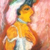 Soprano (Homage Van Dongen) Art Prints & Posters by Judy Schavrien
